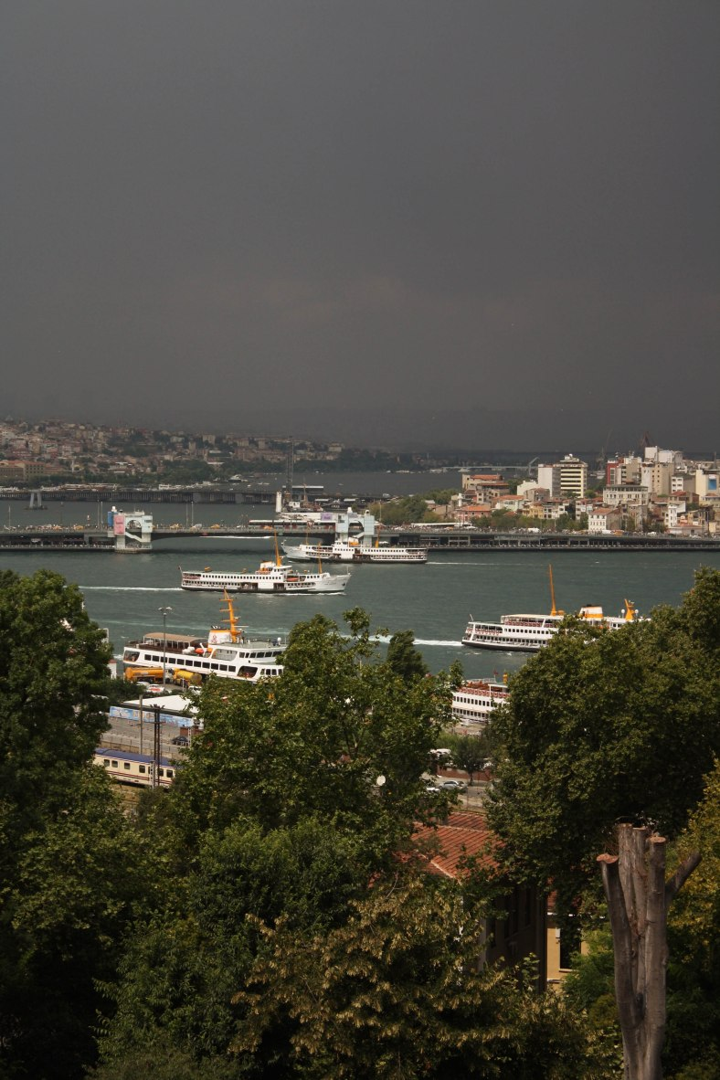 Istanbul, view from Topkapi 2