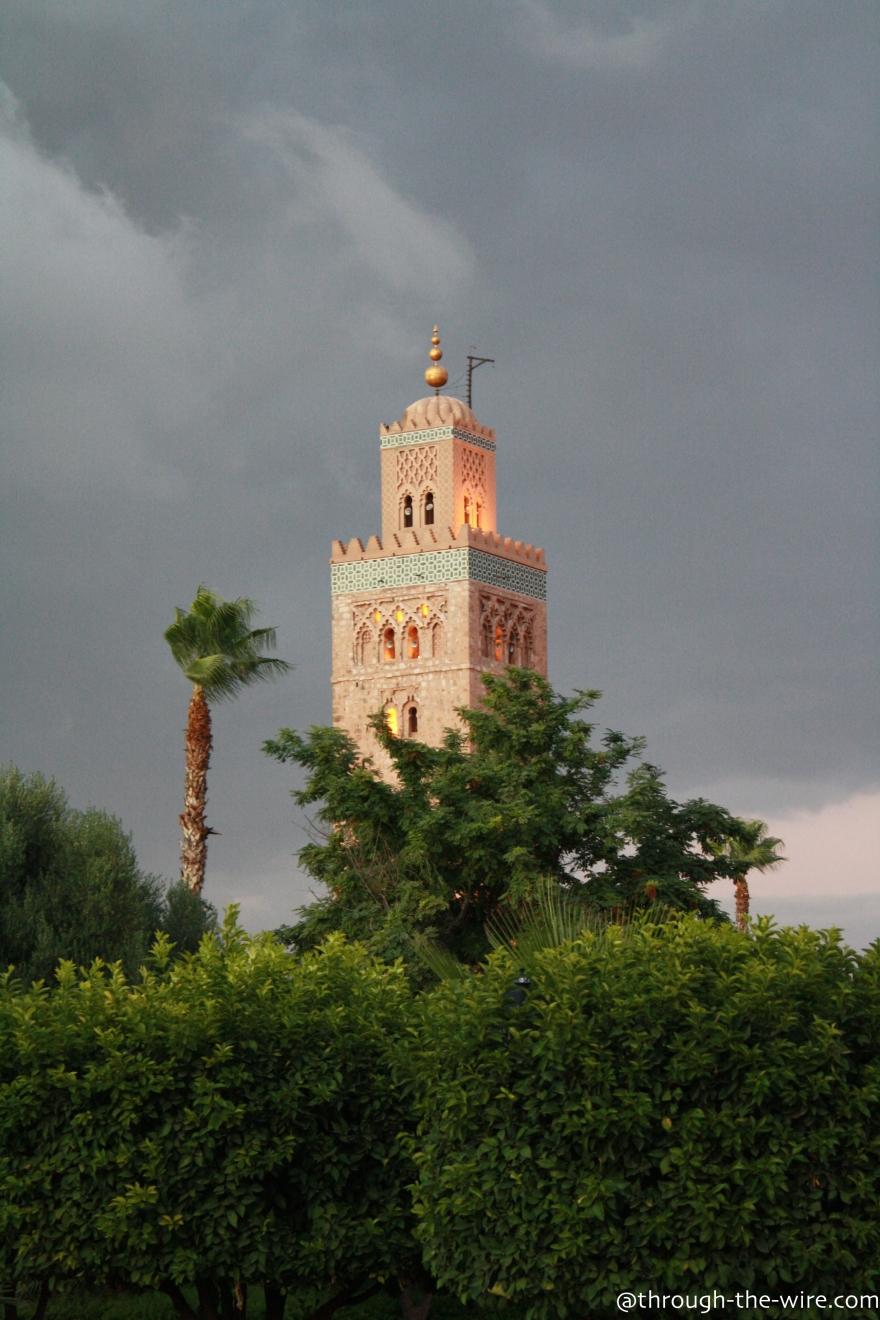 Marrakech, Koutoubia Mosquee